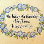 """""""Friendship Brings Special Joy"""" by carolcourictribou"""
