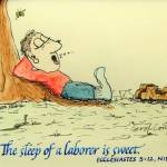 """""""The Sleep of a Laborer"""" by carolcourictribou"""