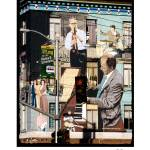 """SFoto North Beach Jazz Mural"" by sfoto"