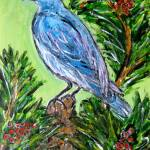 """The Blue Bird"" by HeidiZeile"