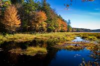 Hopkinton Watershed in Fall