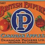 """British Empire Fruit Crate Label"" by LABELSTONE"