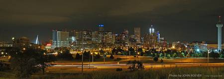 Denver at Night, 14 Aug 2009