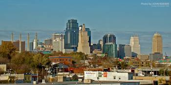 Kansas City Skyline, 9 Nov 2008