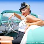 """Erika - Texas Timebomb - King of Clubs Car Show"" by rockabillyboy72"