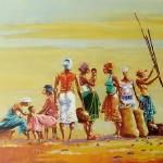 """Women on the farm"" by artfrica"