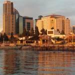 """San Diego Seaport Village"" by aleksasha"