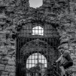 """Portchester Castle, Main Gate"" by scalespeeder"