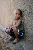 Child in Kliptown, S. Africa