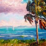 """Palm Trees along the River"" by mazz"