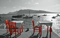 Taverna Orange Chairs