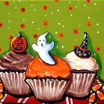 """Halloween Cupcakes"" by reniebritenbucher"
