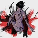 """""""Oriental Nude #1    东方裸体"""" by marla"""
