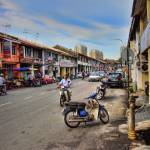 """Penang Street Scene"" by benedwards"