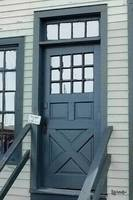 Blue Door at the Seaport
