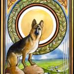 """Shepherd Nouveau"" by PegLozier"
