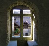 Chillon castle window