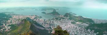 Sugar Loaf from Corcovado