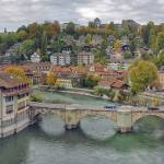 """Aare Panorama from Nydeggbrücke 2"" by photologues"