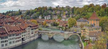 Aare Panorama from Nydeggbrücke 2