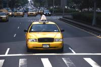 Taxi at 57th and Park