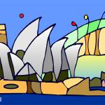 """Sydney Opera House"" by wkarl"