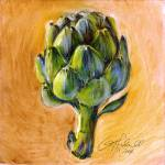"""artichoke ( 1 of series of 4)"" by rudisill"