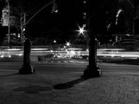 Night Lights BW