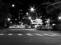 Night Lights BW 3