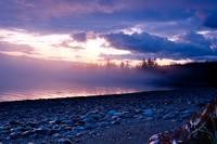 Sunrise on Vancouver Island