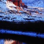 """Fisher Towers"" by desertskiesphotography"