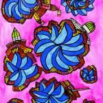 """""""Abstract Dublin 18"""" by Aurelie"""