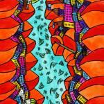 """""""Abstract Dublin 19"""" by Aurelie"""