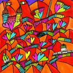 """Abstract Dublin 20"" by Aurelie"