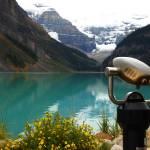 """""""Binoculars at Lake Louise"""" by csquared"""