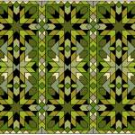 """Morocco 1 green gold black"" by LeslieTillmann"