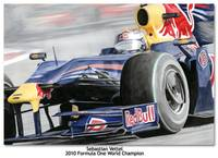 POSTER: Sebastian Vettel - 2010 F1 World Champion