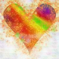 Mystical Rainbow Heart