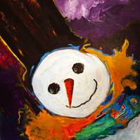 Whimsy Snowman
