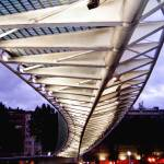 """Campo Volantín footbridge, Bilbao, Spain"" by jmhdezhdez"