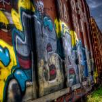 """Graffiti Trains"" by barbarayoungleson"