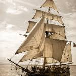 """Tall Ship Hawaiian Chieftain Fore"" by ErinKanoa"