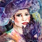 """Lady with a Hat"" by allinghamcarlson"