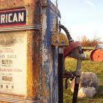 """Vintage Gas Pump"" by maryalicefranklin"
