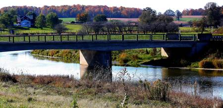 Bridge over the Conestogo River