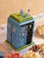 Ten With A Tardis Cake