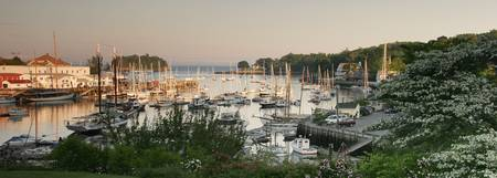 Camden Harbor, Maine; 2008