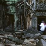 """Ta Prohm Temple"" by nicholaspitt"