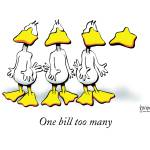 """One bill too many"" by johnbaron"