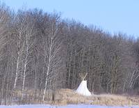 Tipi in Winter